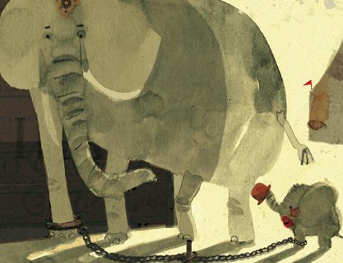 El elefante encadenado (cuento filosófico)