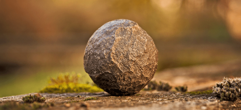 La piedra en el sendero