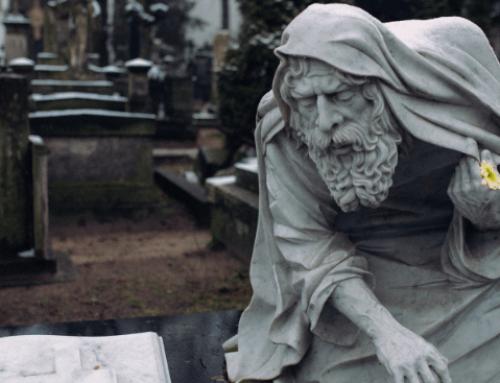 El epitafio del anciano (Cuento filosófico)