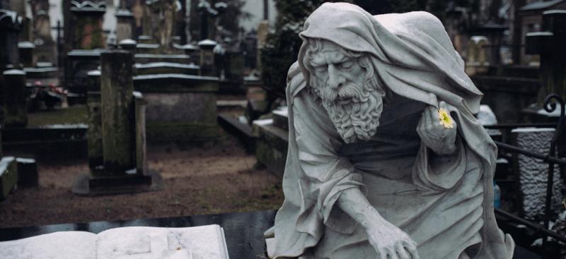 El epitafio del anciano